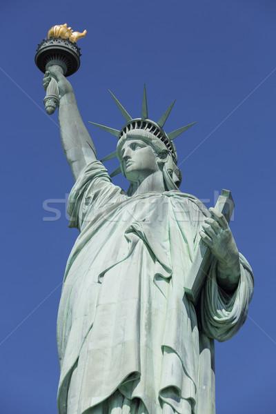 Szobor hörcsög New York zöld folyó kultúra Stock fotó © vwalakte