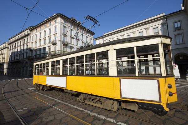 Vintage tram Stock photo © vwalakte
