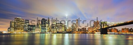 New York City Manhattan midtown Stock photo © vwalakte