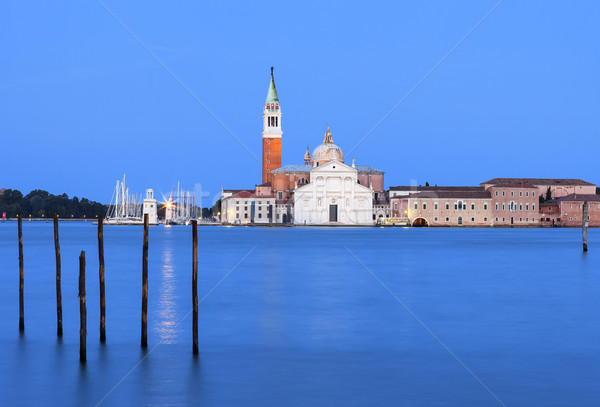 Church of San Giorgio Maggiore in Venice.  Stock photo © vwalakte