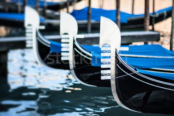 typical gondolas Stock photo © vwalakte