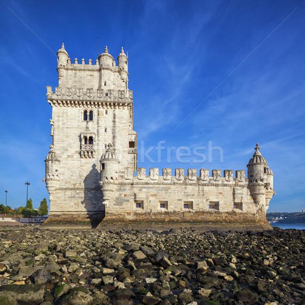 Famous Belem tower Stock photo © vwalakte