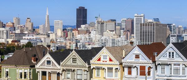 Foto stock: Panorámica · vista · San · Francisco · EUA · carretera · ciudad