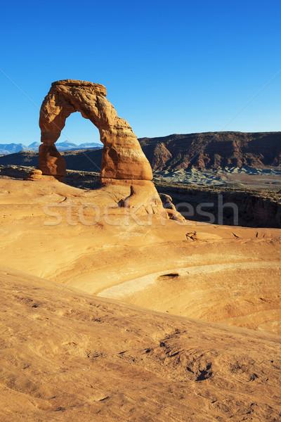 Stock fotó: Híres · ív · USA · Utah · festői