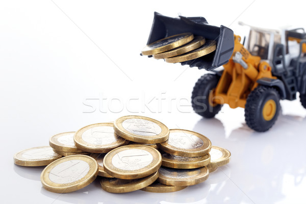 coins and loader Stock photo © vwalakte