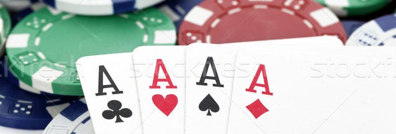 panoramic poker Stock photo © vwalakte