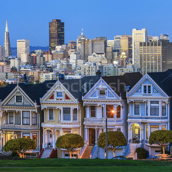 Famous view of San Francisco Stock photo © vwalakte