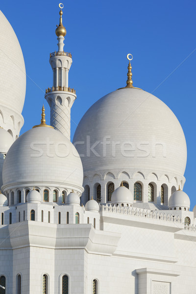 Сток-фото: мечети · Blue · Sky · воды · синий · поклонения · архитектура