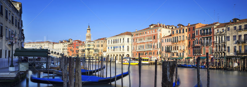 Panoramic view of Grand Canal Stock photo © vwalakte