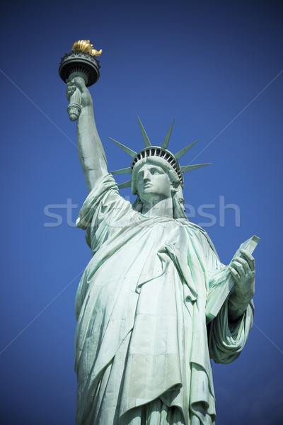 Blue liberty Stock photo © vwalakte