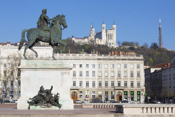 View of Statue and Basilica  Stock photo © vwalakte