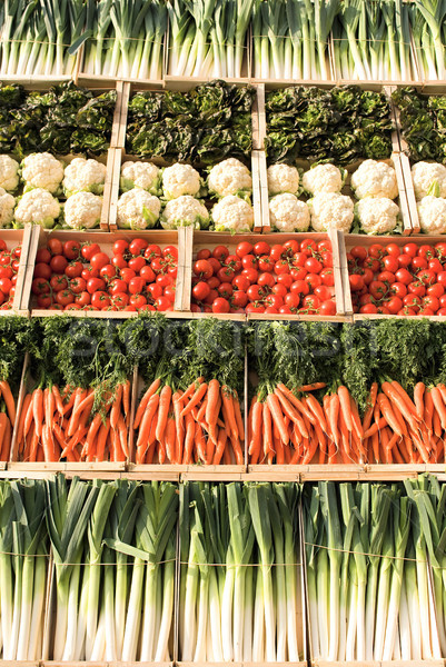 different types of vegetables  Stock photo © vwalakte