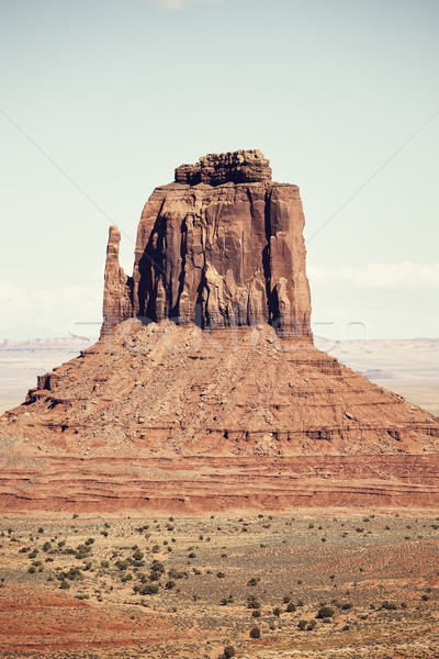 Monument Valley rock formation Stock photo © vwalakte