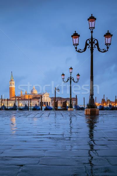 Stock photo: Venice under the rain