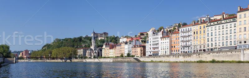 Panoramic View of Vieux Lyon Stock photo © vwalakte