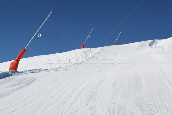Snow time Stock photo © vwalakte