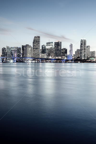 Miami, Florida, special photographic processing. Stock photo © vwalakte