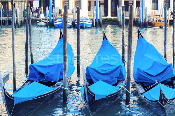 Three gondolas Stock photo © vwalakte