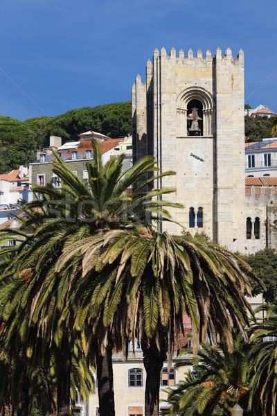 church of the city of Lisbon Stock photo © vwalakte