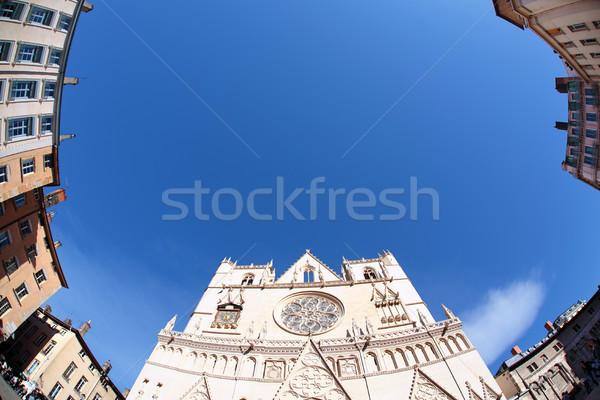fish eye cathedral Stock photo © vwalakte