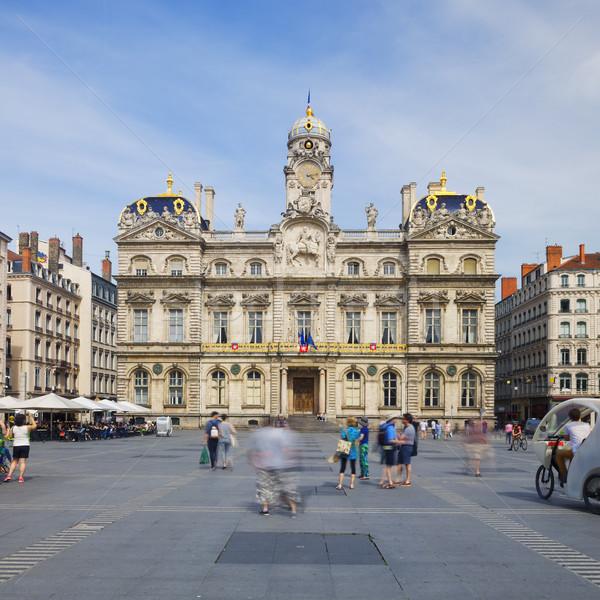 Place des Terreaux Stock photo © vwalakte