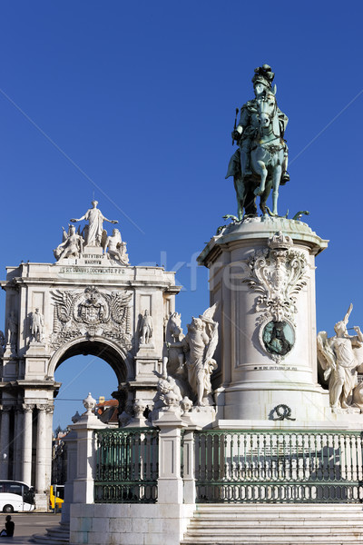 statue and arch Stock photo © vwalakte