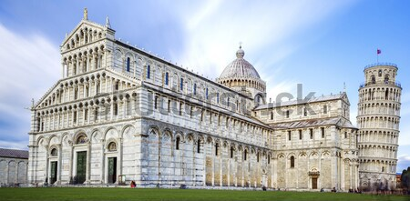 great Piazza Miracoli in Pisa Italy  Stock photo © vwalakte