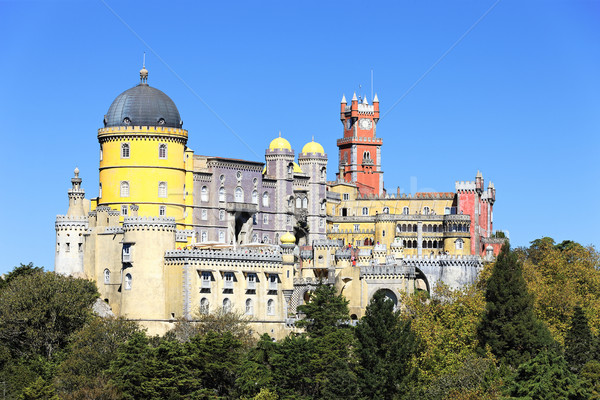 Pena National Palace in Sintra Stock photo © vwalakte