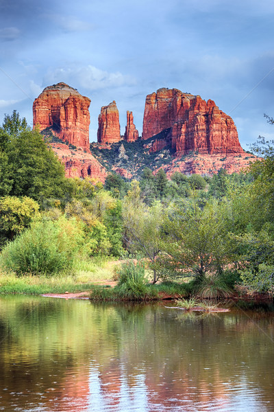 Cathedral Rock in Sedona Stock photo © vwalakte