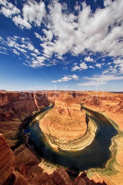 Famoso herradura Utah EUA agua Foto stock © vwalakte