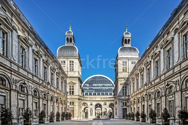 известный опера дома Лион город Франция Сток-фото © vwalakte