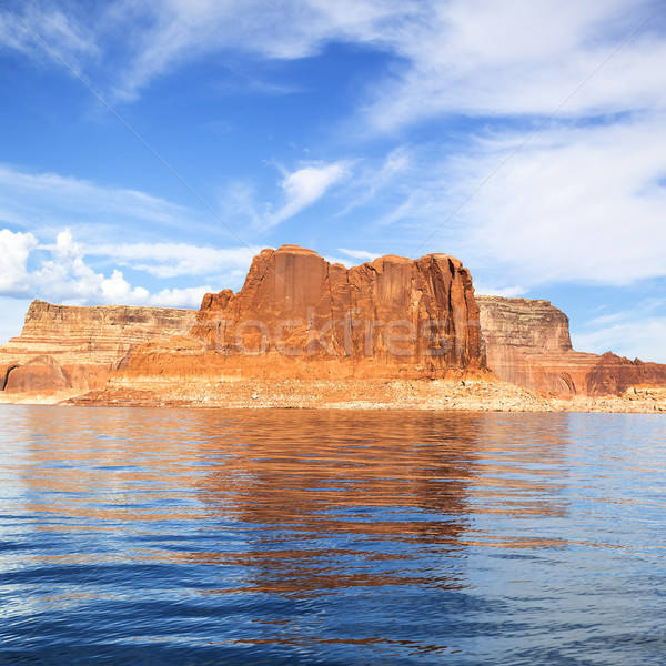 View of the famous Lake Powell Stock photo © vwalakte