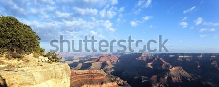Panorâmico ver Grand Canyon nascer do sol Arizona EUA Foto stock © vwalakte