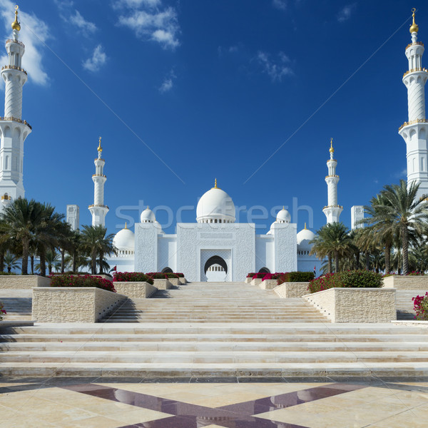 View of Sheikh Zayed Grand Mosque Stock photo © vwalakte