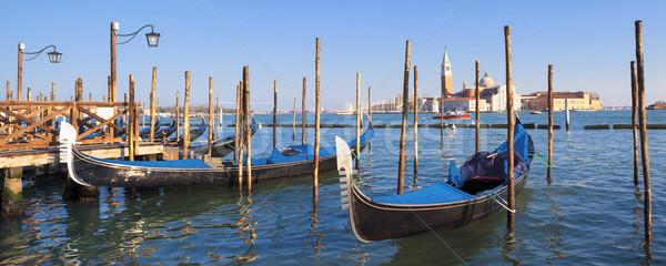 San Giorgio Maggiore island in Venice Stock photo © vwalakte