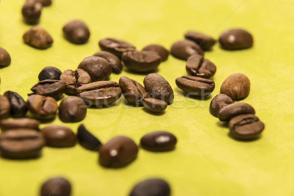 Closeup of coffee beans Stock photo © w20er