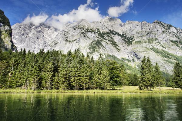 Koenigssee and Watzmann Stock photo © w20er