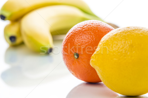 Group of fruits Stock photo © w20er