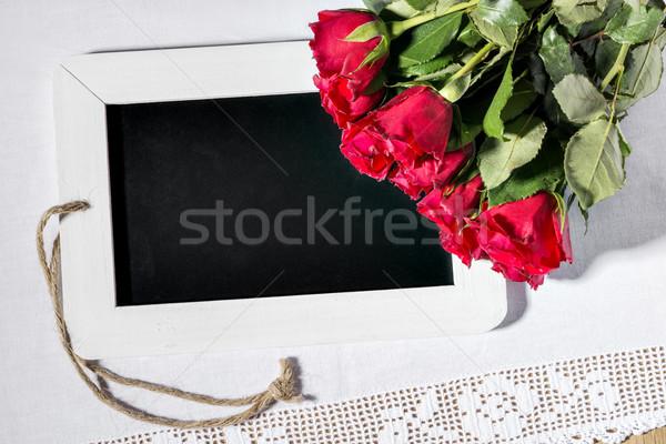 blank slate blackboard Stock photo © w20er