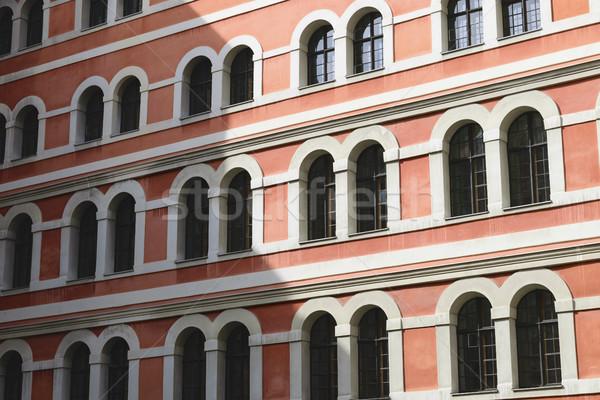 Photo stock: Historique · façade · Graz · image · rouge · ville