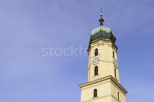 Stock fotó: Templom · Graz · Ausztria · kép · európai · város