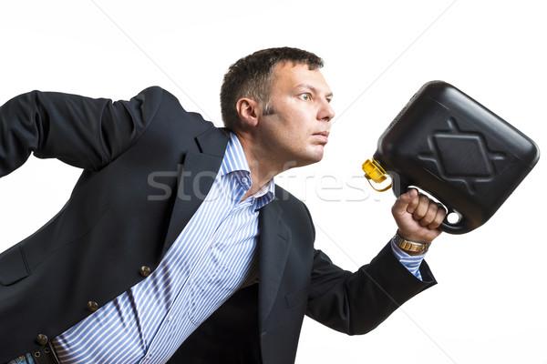 Man needs urgent fuel Stock photo © w20er