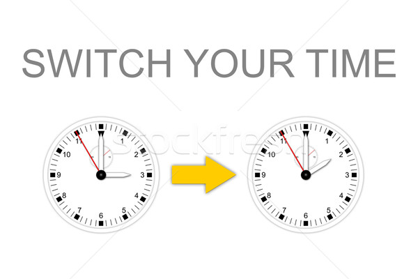 SWITCH YOUR TIME Stock photo © w20er