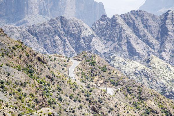 Road Jebel Akhdar Oman Stock photo © w20er