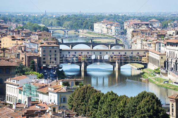 Сток-фото: Флоренция · мнение · воды · город · свет · лет