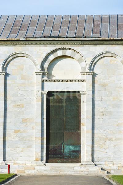 Stock photo: Wall Camposanto Monumentale