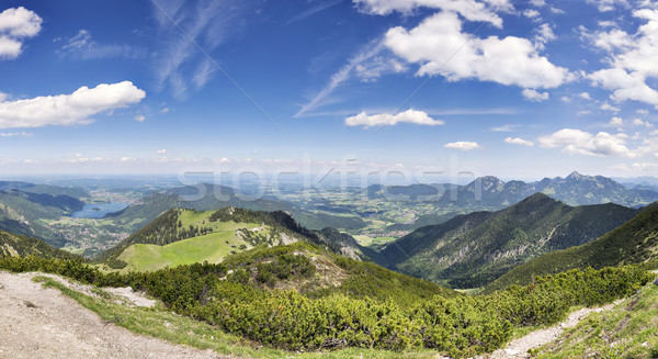 Panorama Jaegerkamp Bavaria Alps Stock photo © w20er
