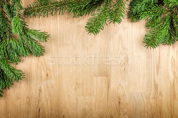 Houten afbeelding exemplaar ruimte hout achtergrond Stockfoto © w20er