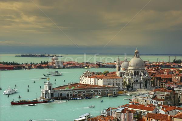 Santa Maria della Salute in Venice Stock photo © w20er