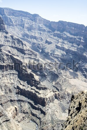Kanyon kép hegy út természet tájkép Stock fotó © w20er